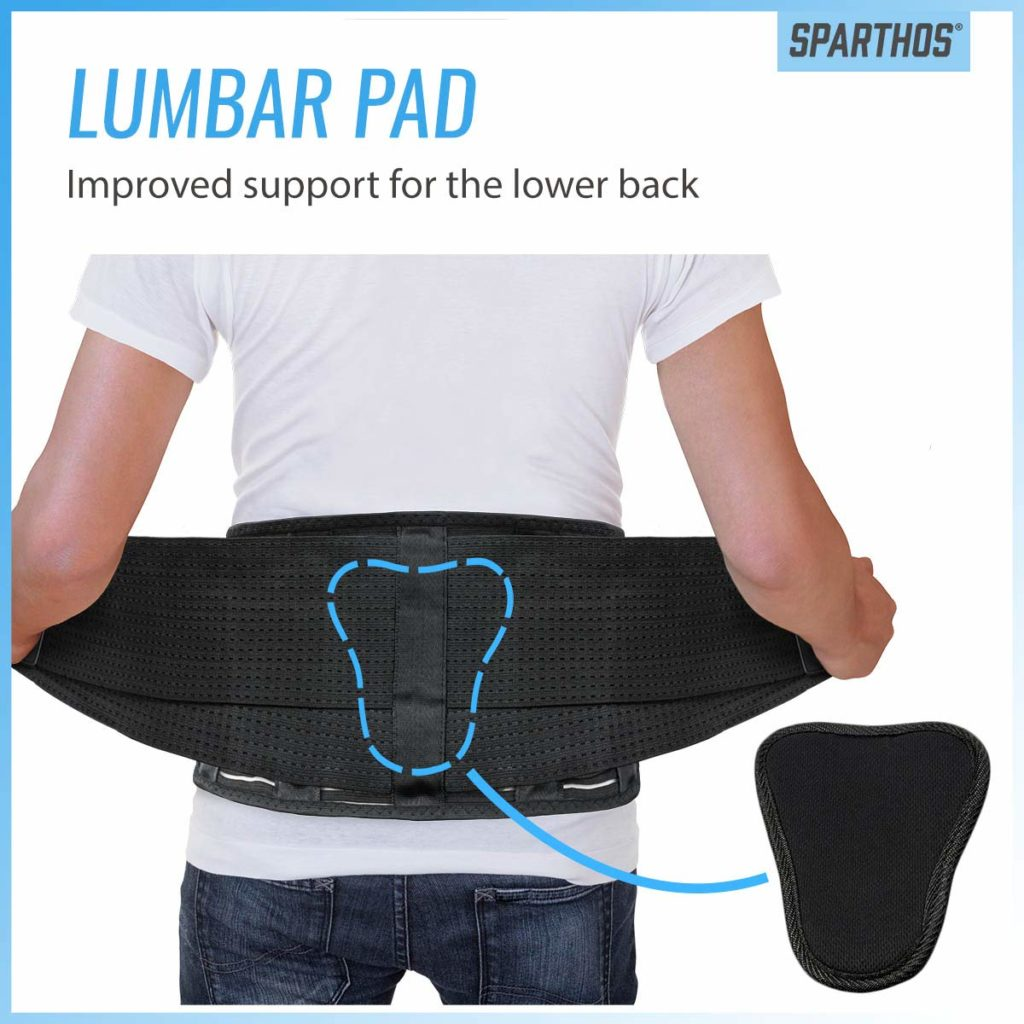 Back Brace by Sparthos - Immediate Relief for Back Pain