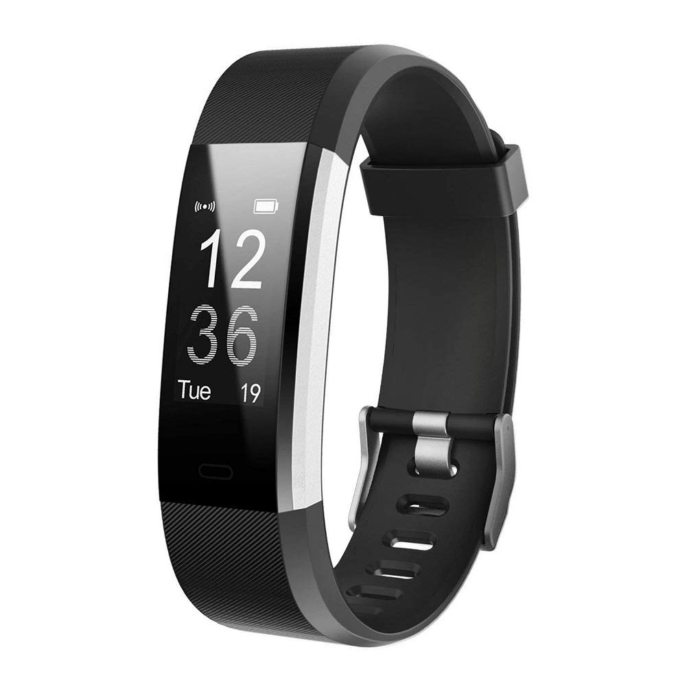 Letsfit Fitness Activity Tracker Watch with Heart Rate Monitor