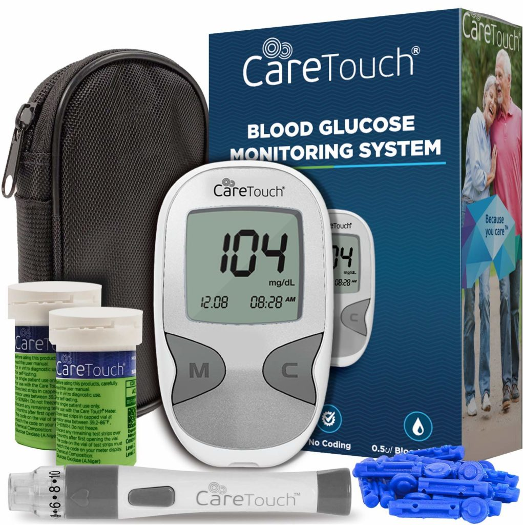 Care Touch blood sugar monitoring devices