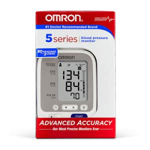 omron5 series to monitor blood pressure at home