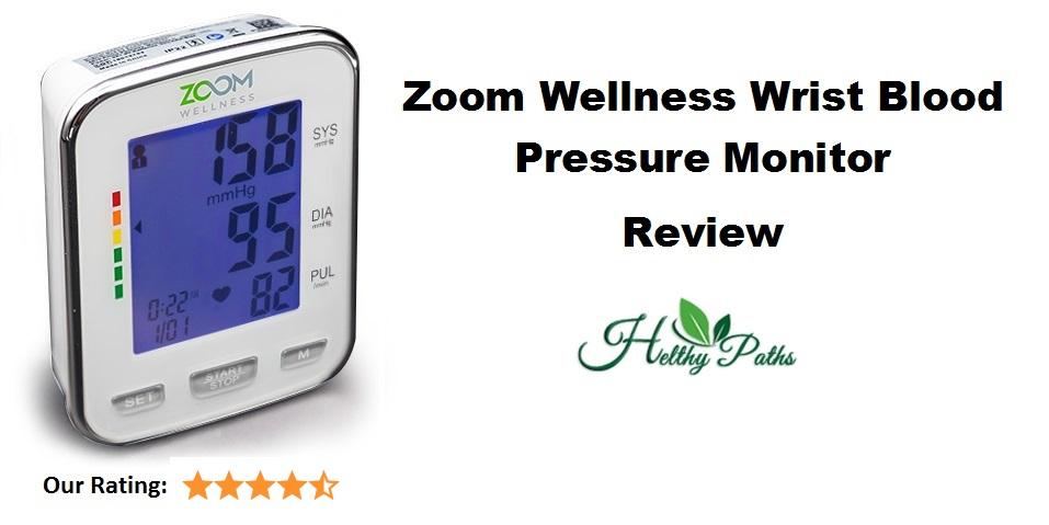 Zoom Wellness Wrist Blood Pressure Monitor Review