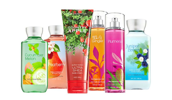 Free bath and body works samples- free stuff for women