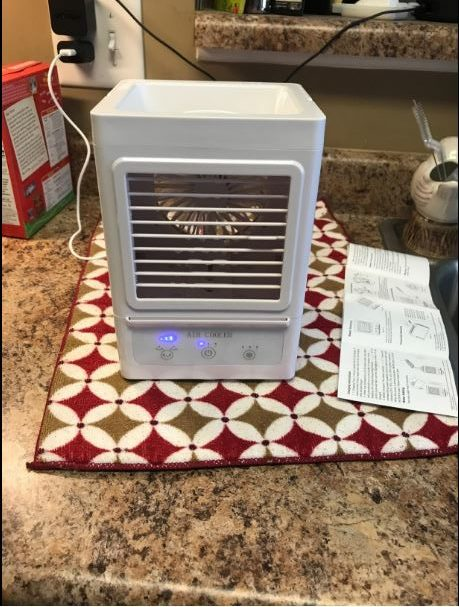 Best Budget #4: Juscool Portable Air Conditioner Fan